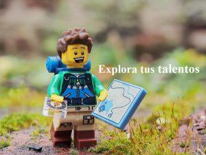 lego con texto explora tus talentos